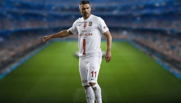 """Antalyasporlu Lukas Podolski'den samimi itiraflar """"Türkiye benim ikinci vatanım"""" ."""
