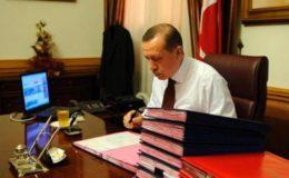 Cumhurbaşkanı Erdoğan'ın masasındaki son anket