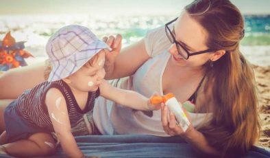 Bebek Güneş Kremi Seçerken Dikkat Edilmesi Gerekenler