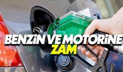 Benzin ve motorine zam yapıldı.. !