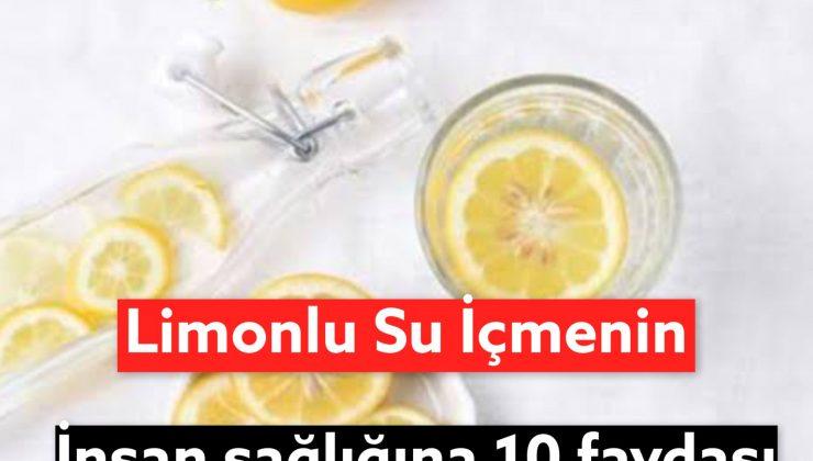 Limonlu Su İçmenin Faydaları Nelerdir ? Limonlu Su İçmenin 10 Faydası
