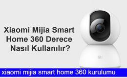 Xiaomi 360 Akıllı Güvenlik Kamerası Kurulumu