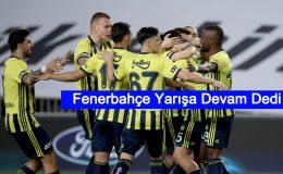 Fenerbahçe yarışa devam dedi