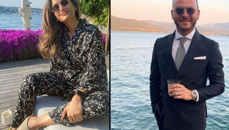 Murat Gezer ile Nazlı Çarmıklı Evlendi