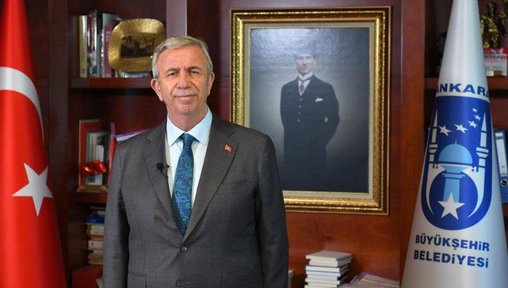 Mansur Yavaş '2021 Dünya Belediye Başkanı Ödülü'nde finale kaldı