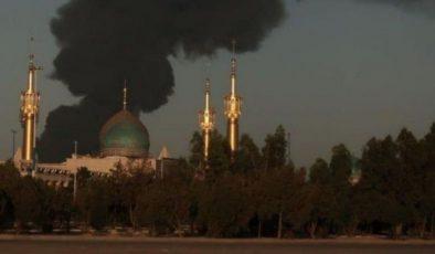 Tahran'da petrol rafinerisi alev aldı