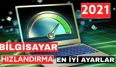 Bilgisayar Hızlandırma 2021 Kesin Çözüm
